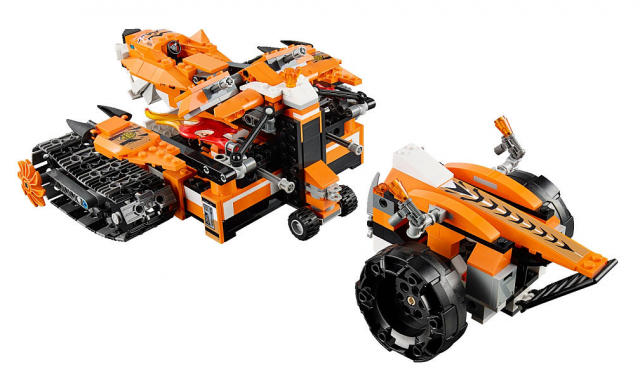 LEGO Chima 2015 Sets Tiger's Mobile Command 70224 Set
