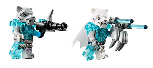 LEGO Legends of Chima Sibress Minifigure Sir Fangar Minifigure 70224