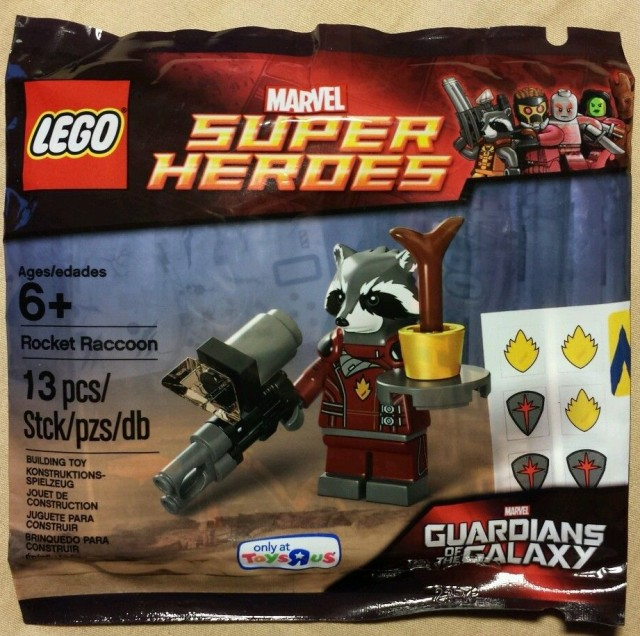 LEGO 5002145 - Rocket Raccoon - polybag. LEGO-Rocket-Raccoon-Polybag-5002145-Set-e1412735034186-640x636