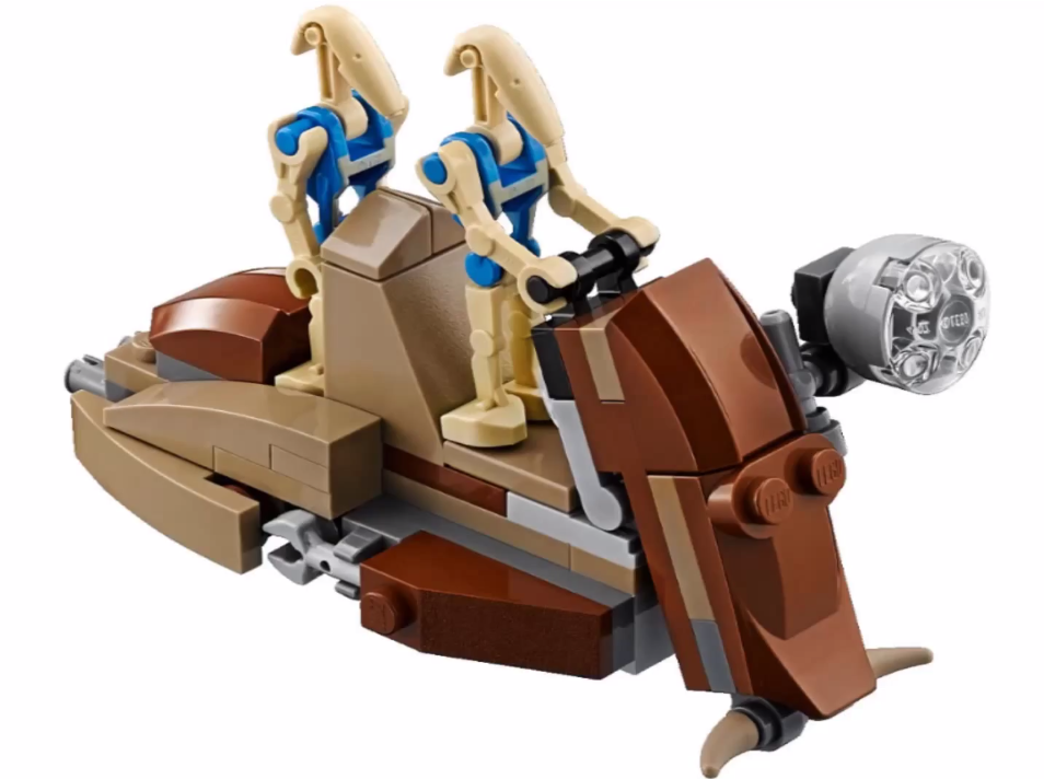 LEGO Star Wars Battle Droid Trooper Carrier 75086 Set Preview