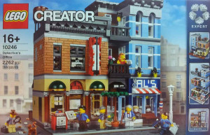 10246 LEGO Detective's Office Modular Building Box