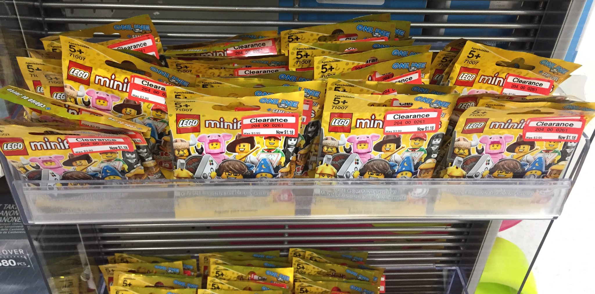 Lego minifigures series 12 71007 clearance sale 1 each for Lago store outlet