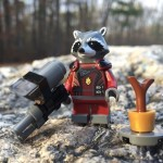LEGO Marvel Rocket Raccoon Minifigure Polybag Review & Photos