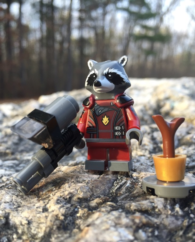 LEGO Rocket Raccoon Polybag Review