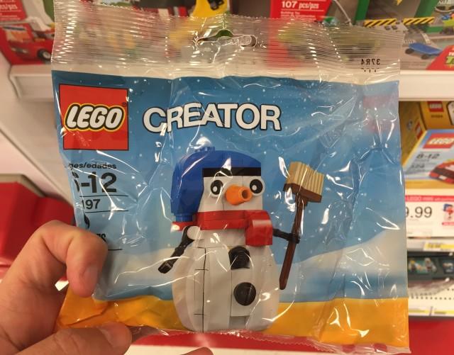 30197 LEGO Snowman Polybag Set 2014