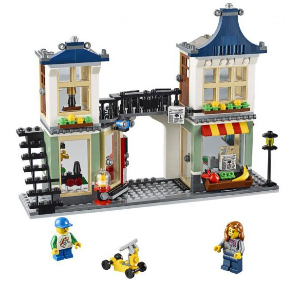 Lego Toy Food : Lego creator toy grocery shop set revealed
