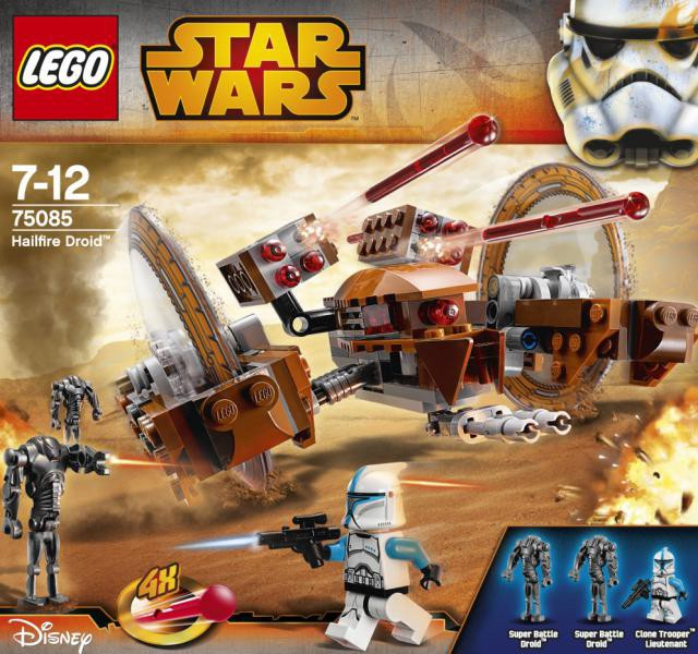2015 lego star wars hailfire droid 75085 set photos - Lego star wars vaisseau droide ...