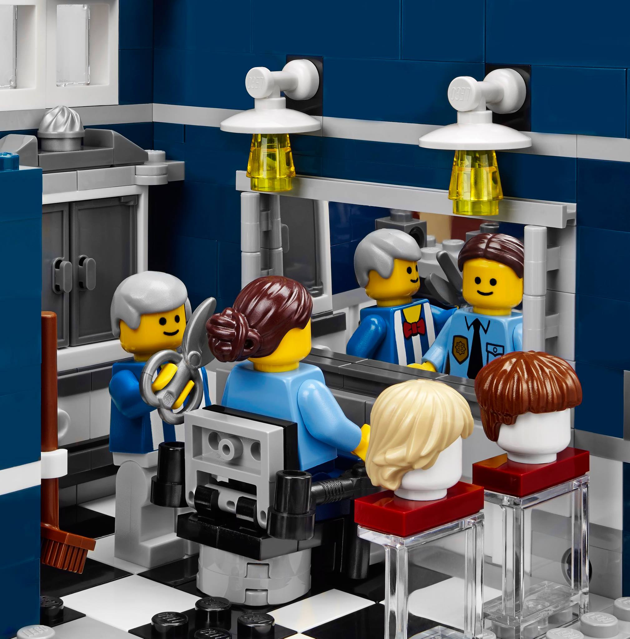 lego office. LEGO Barber Shop From 10246 Detective\u0027s Office Set Lego