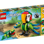 2015 LEGO Creator Rainforest Animals 31031 Set Revealed!