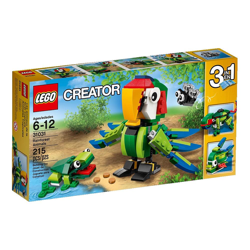 2015 lego creator rainforest animals 31031 set revealed bricks and bloks. Black Bedroom Furniture Sets. Home Design Ideas