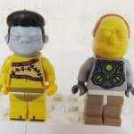 LEGO Simpsons Series 2 Minifigures: Snake Frink Smithers Patty!
