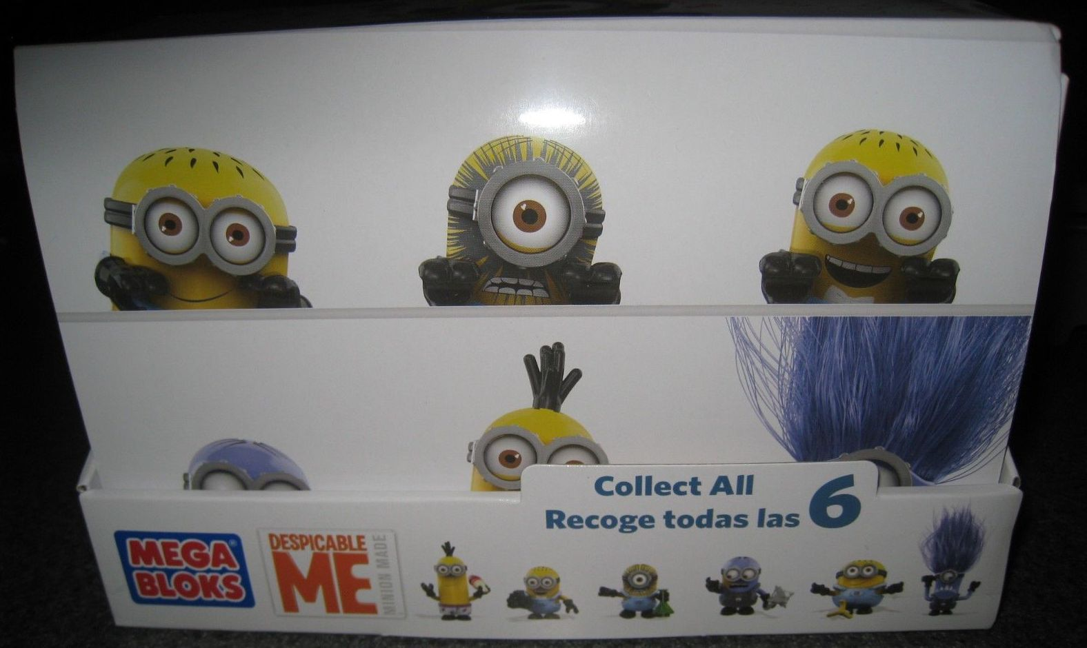Minion Camera Case : Code number list: despicable me minions mega bloks series 1