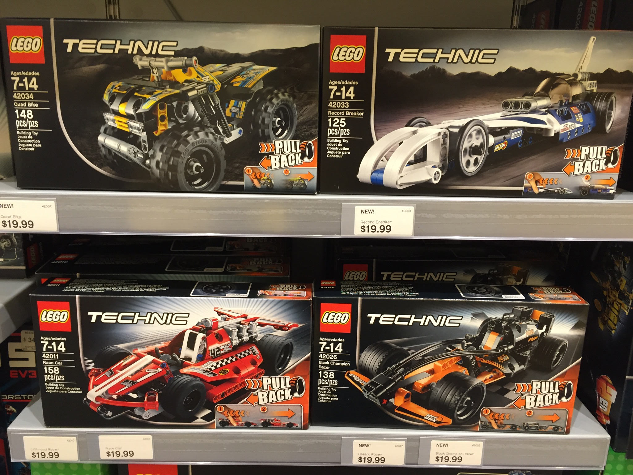 2015 Lego City Creator Technic Sets Released Online Bricks And