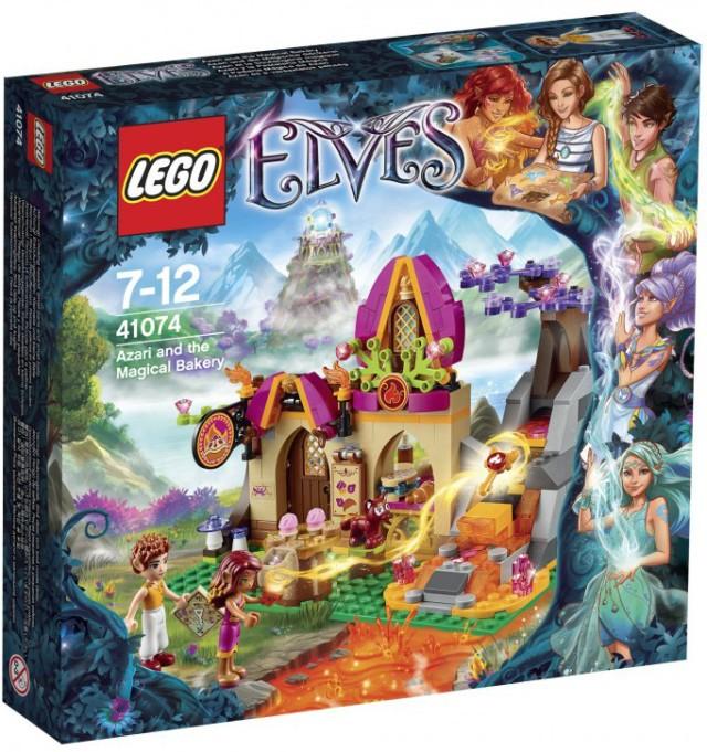 LEGO Elves Azari and The Magical Bakery 41074 Box