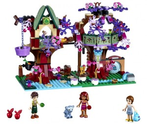 LEGO Elves Treetop Hideaway 41075 Set January 2015 Release