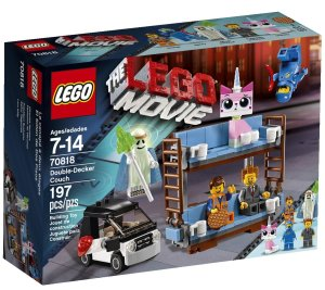 LEGO Movie Double-Decker Couch 70818 Set Box