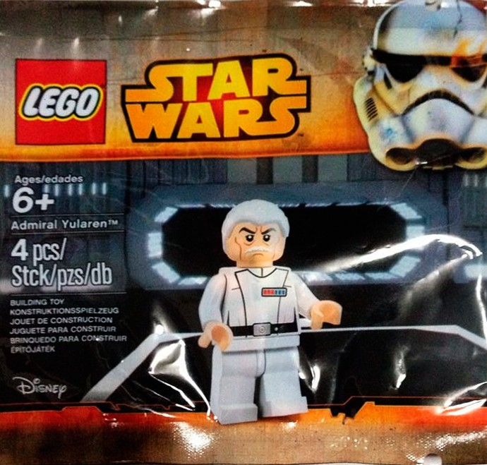 May The 4th Be With You Exclusives: LEGO Star Wars Admiral Yularen Minifigure! May The 4th