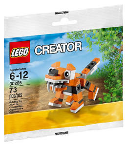 LEGO 30285 Tiger Set Polybag Promo Winter 2015