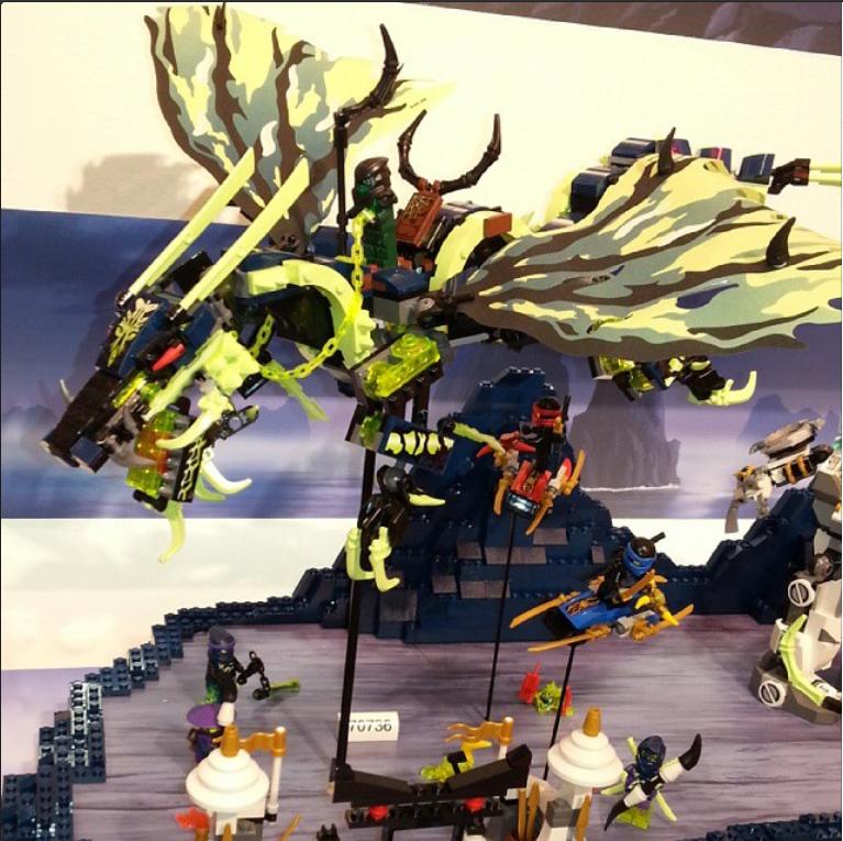 Lego Ninjago Overlord Dragon Set Lego Ninjago Summer 2015 Sets