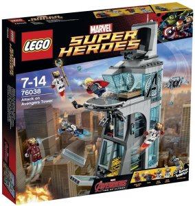 LEGO Attack on Avengers Tower 76038 Box