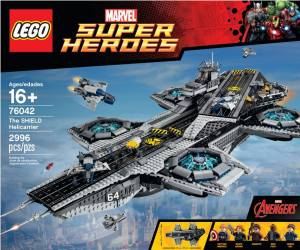 LEGO Marvel The SHIELD Helicarrier 76042 Set Box