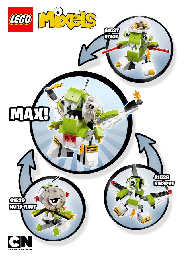 Lego Mixels Series 4 Mixel Max Figures Photos Bricks And Bloks