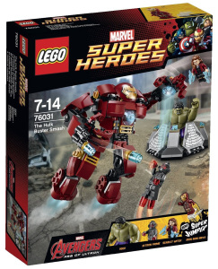 LEGO The Hulkbuster Smash 76031 Box Avengers Age of Ultron