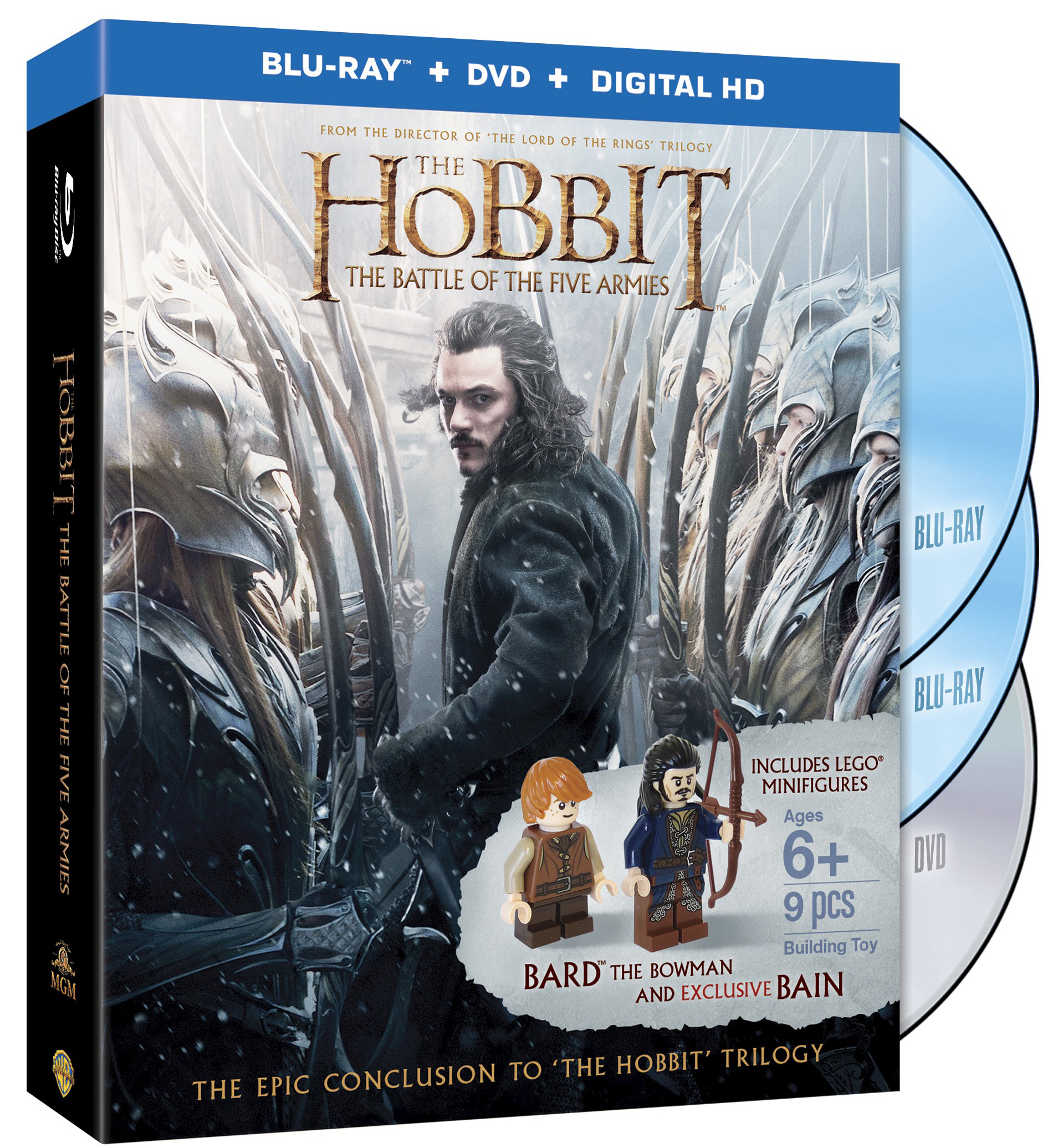 lord of the rings trilogy dvd target