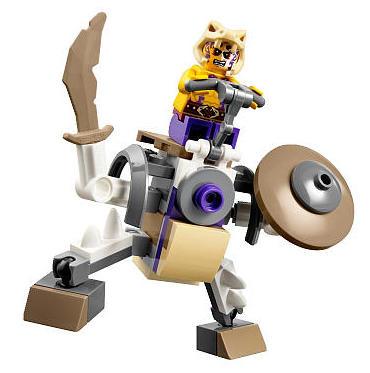 30291 Anacondrai Battle Mech LEGO Ninago 2015 Set