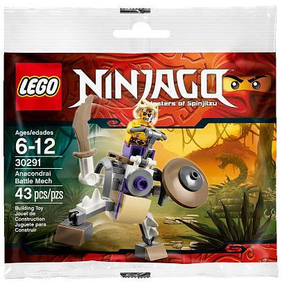 30291 LEGO Ninjago Anacondrai Battle Mech Polybag Set