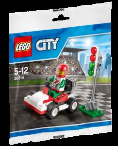 30314 LEGO City Go-Kart Racer Polybag Set