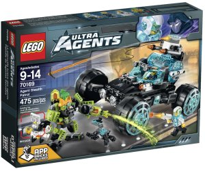 70169 LEGO Ultra Agents Agent Stealth Patrol Winter 2015 Set