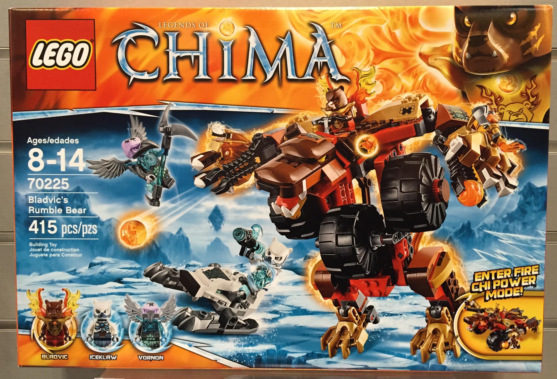 Photos Chima 70225 Bladvic's Bear Set Lego Rumble 2015 Summer qSzMVGUp