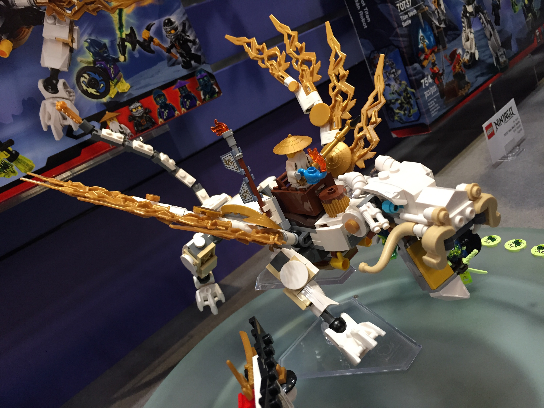 toy fair 2015 lego ninjago master wu dragon 70734 photos bricks and bloks. Black Bedroom Furniture Sets. Home Design Ideas