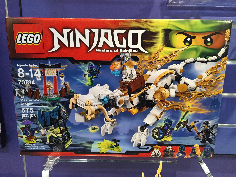 LEGO 70734 Ninjago Master Wu Dragon Ghost Master Pitch Minifigure