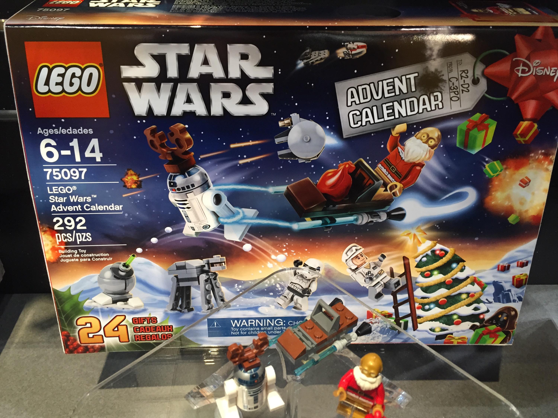 LEGO Star Wars 2015 Advent Calendar Photos! Toy Fair 2015 - Bricks and ...