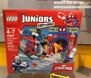 LEGO Spider-Man Hideout 10687 Box Toy Fair 2015
