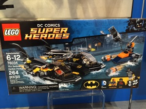 New York Toy Fair 2015 LEGO Batboat Pursuit 76034 Set Photos