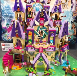 LEGO Elves 41078 Skyra's Mysterious Sky Castle 2015 Toy Fair