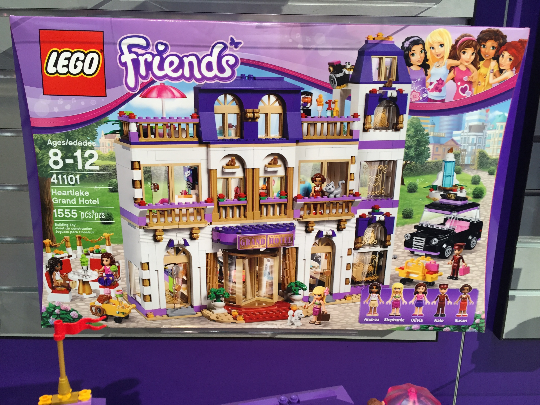 Lego Friends Heartlake Grand Hotel Summer 2015 Set Photos Bricks And Bloks