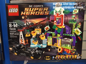 New York Toy Fair 2015 LEGO Jokerland 76035