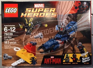 New York Toy Fair 2015 LEGO Ant-Man Final Battle 76039