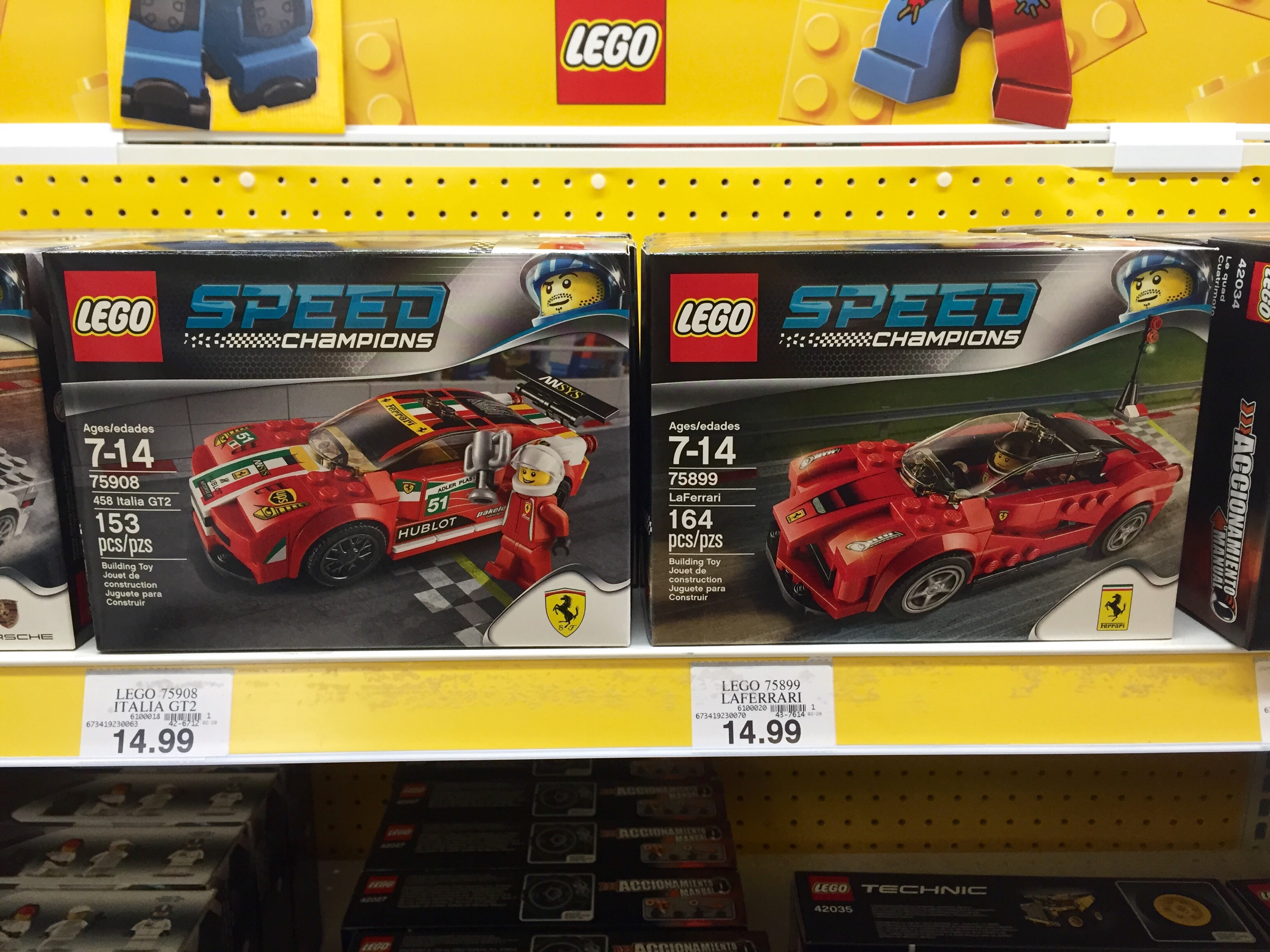 lego speed champions sets released in stores photos bricks and bloks. Black Bedroom Furniture Sets. Home Design Ideas