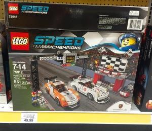 LEGO Speed Champions Porsche 911 GT Finish Line 75912 Box