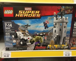 Exclusive LEGO Age of Ultron Hydra Fortress Smash 76041