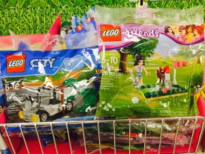 LEGO City Garbage Truck 30313 & LEGO Friend Mini Golf 30203 Polybags
