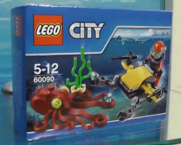 LEGO Deep Sea Scuba Scooter 60090 Box