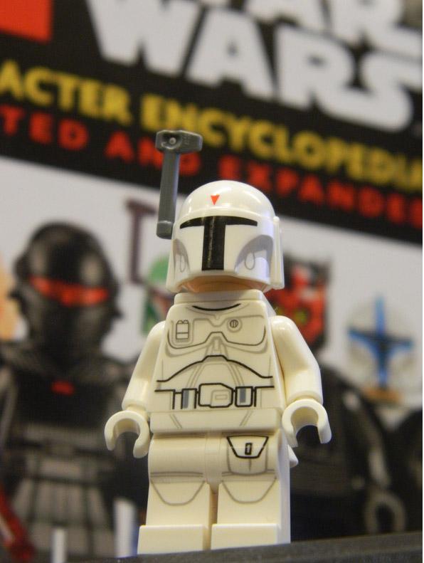 LEGO Star Wars Minifigure WHITE BOBA FETT Exclusive New and Rare