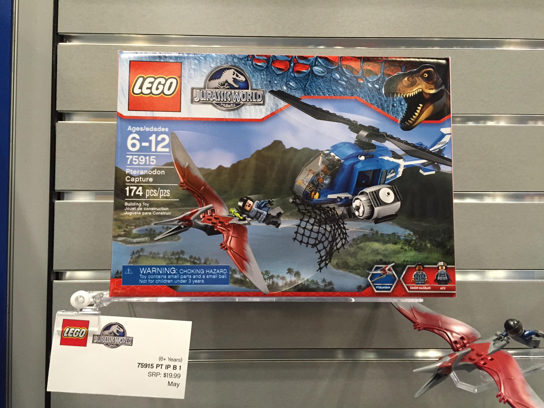 Jurassic World Lego Pteranodon Capture 75915 Set Preview Bricks