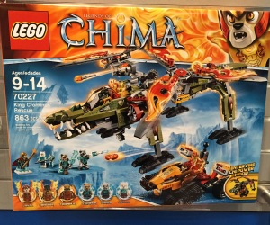 LEGO Chima King Crominus Rescue 70227 Box